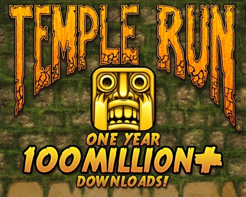 TempleRun100Mil