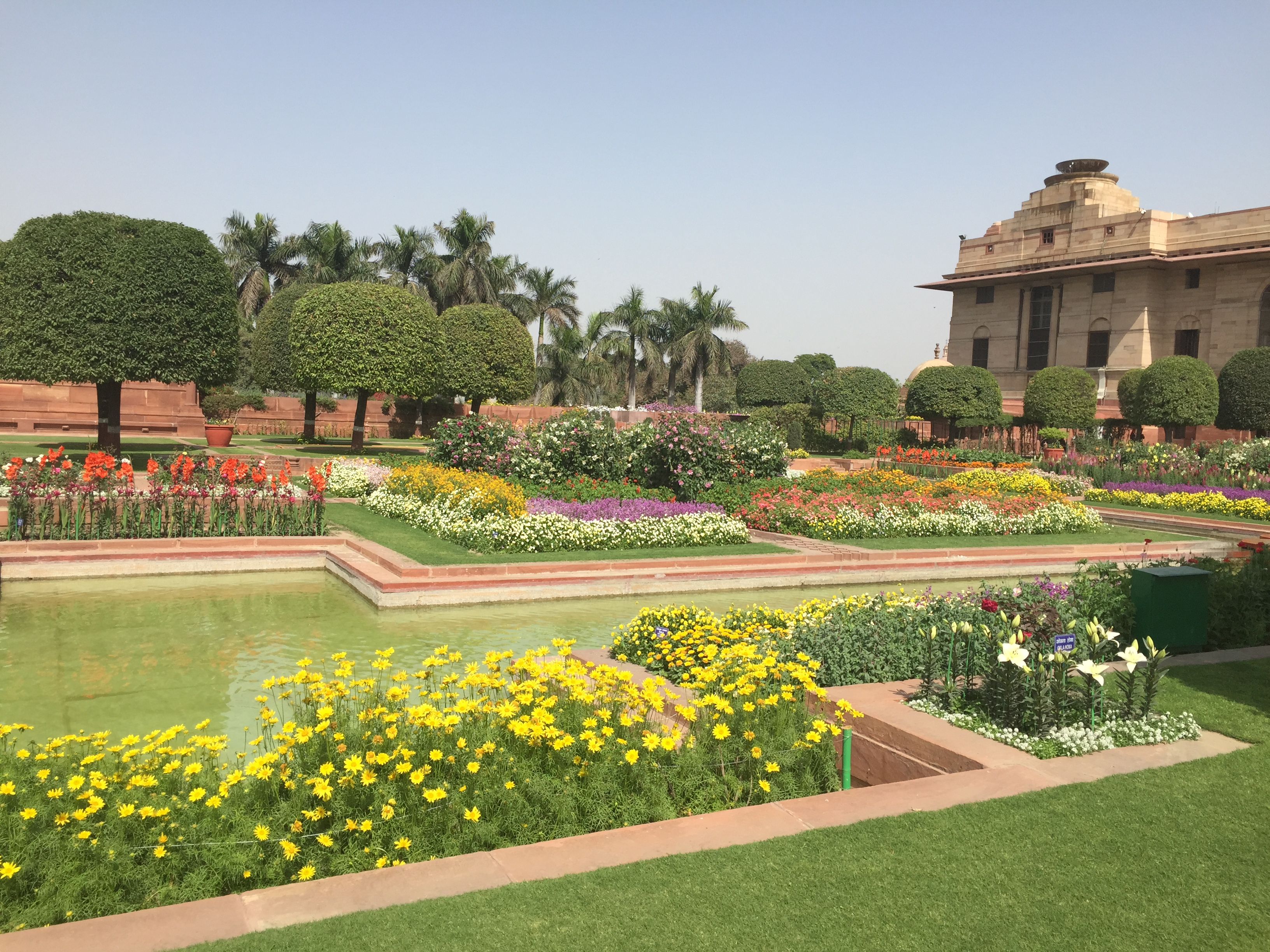 Garden Landscape Design Delhi : Visit to mughal gardens rashtrapati bhawan a few good things