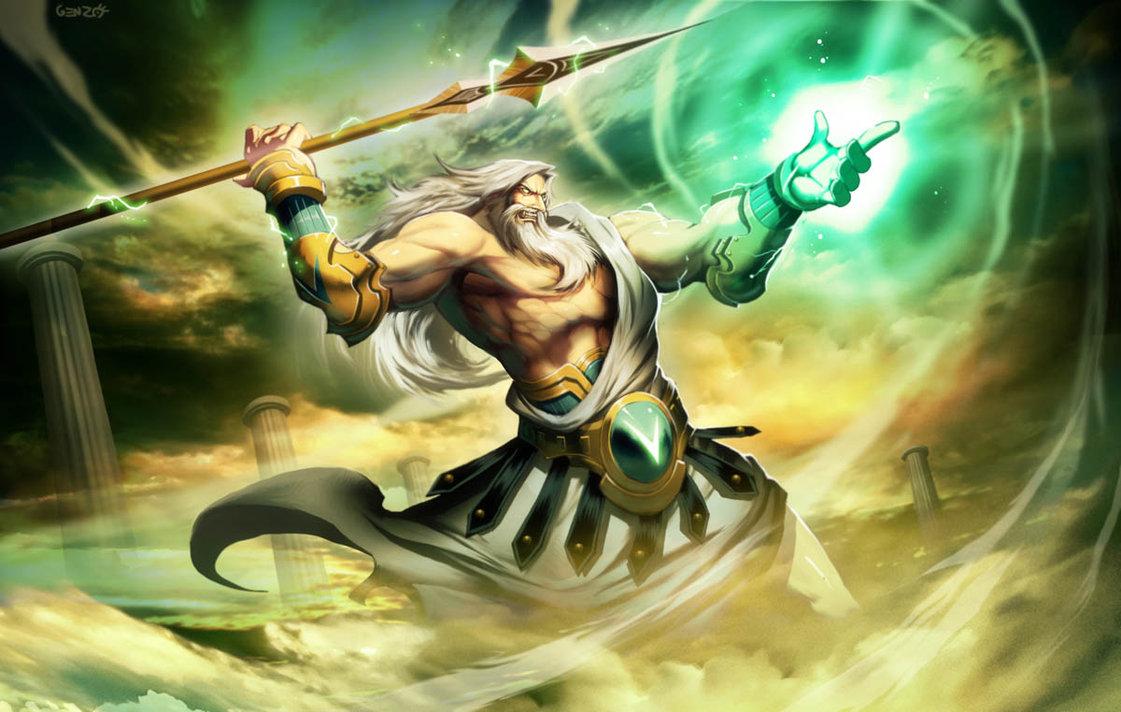 Greek Lightning God