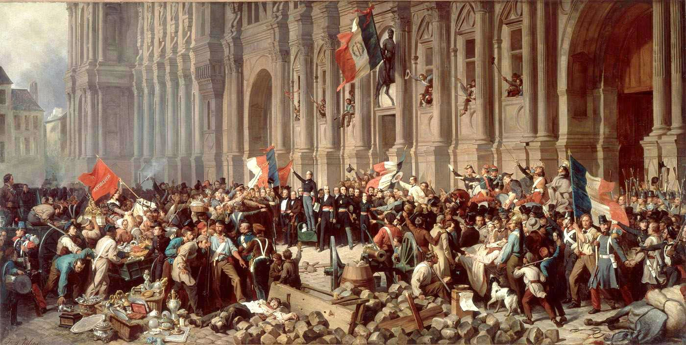 class french revolution cbse a few good things the french revolution philippoteaux lamartine at hdev 1848