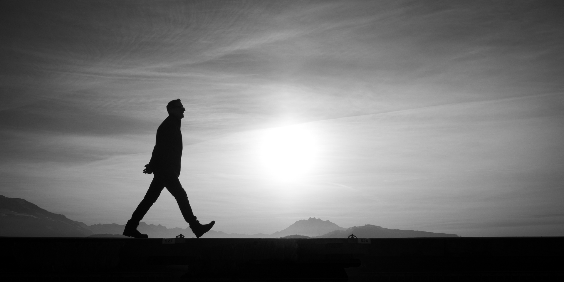 how to walk alone in life